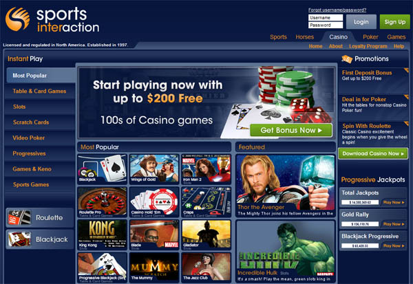Sports Interaction Gambling