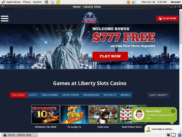 Liberty Slots Real Money Paypal