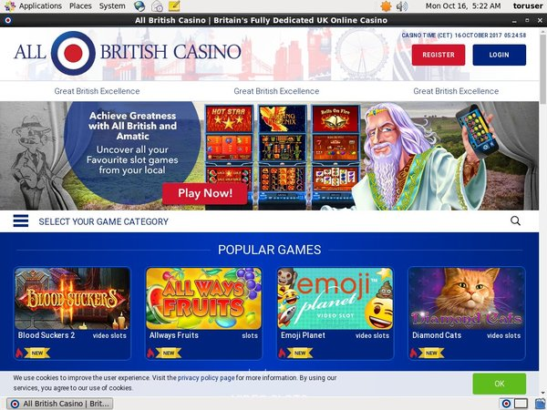 All British Casino Instant Games