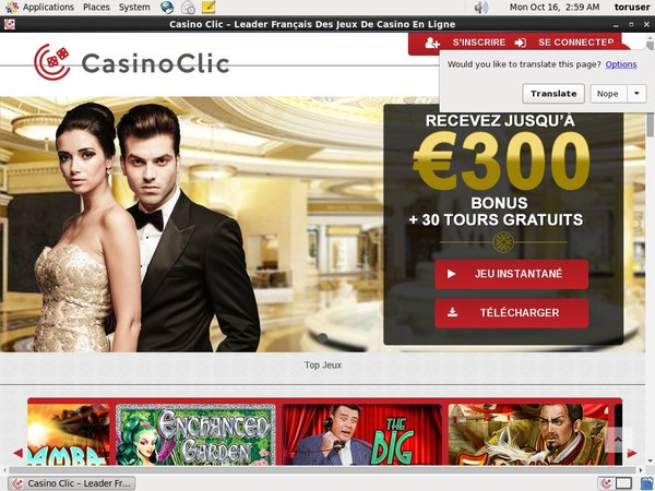 Casinoclic Odds