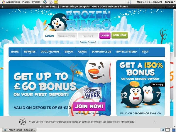 Frozenbingo New Customer Promo