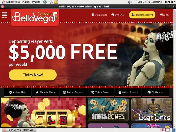 Join Bellavegas Promotion