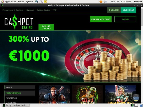 Cashpotcasino Loyalty