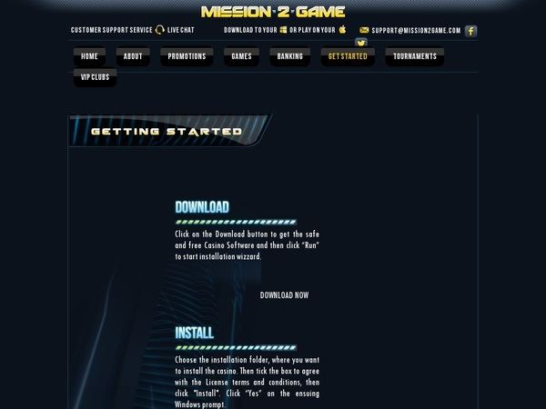 New Mission2game Account