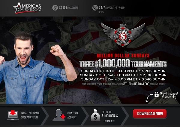 Americascardroom Bet Bonus
