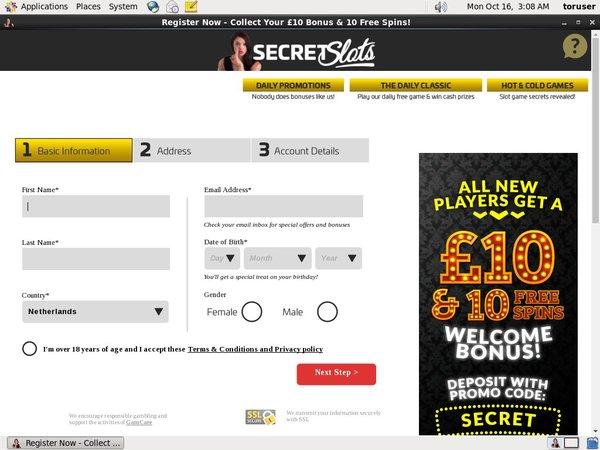Secret Slots Besten Casino Bonus