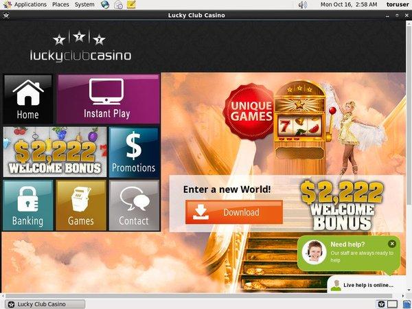 Lucky Club Casino Metro Play