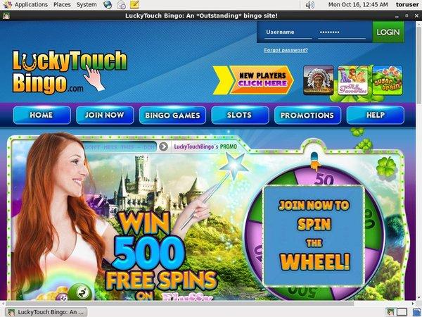 Lucky Touch Bingo Eps Deposit