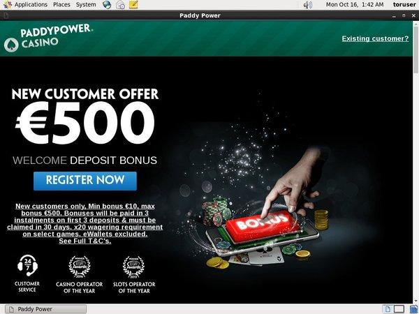 Paddypower Paypal Bingo Sites