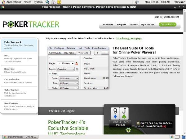 Poker Tracker 4 Welkomstbonus