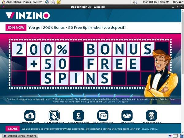 Winzino Member Bonus
