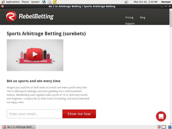 Signup Rebel Betting