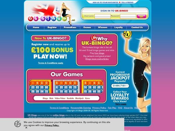 UK-Bingo How To Sign Up