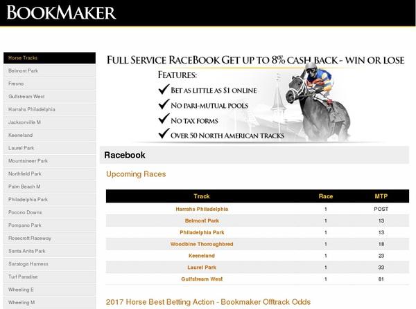 Bookmaker Web Money