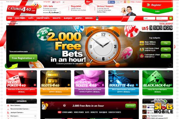 Casino 440 Online Casino Reviews