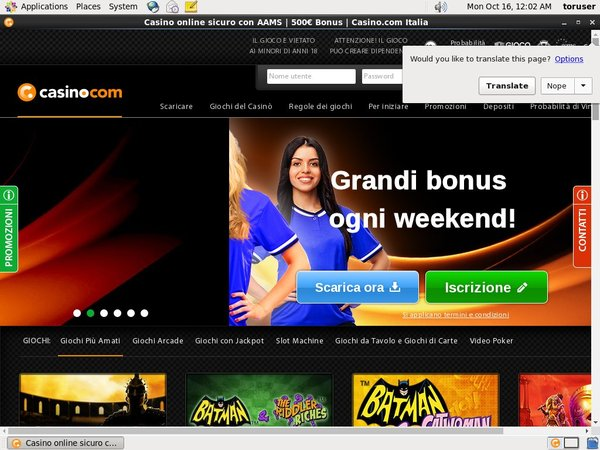 Casino.com Italian For Real